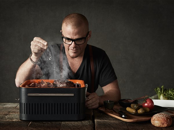 Win an Everdure by Heston Blumenthal CUBE portable charcoal BBQ, worth $299