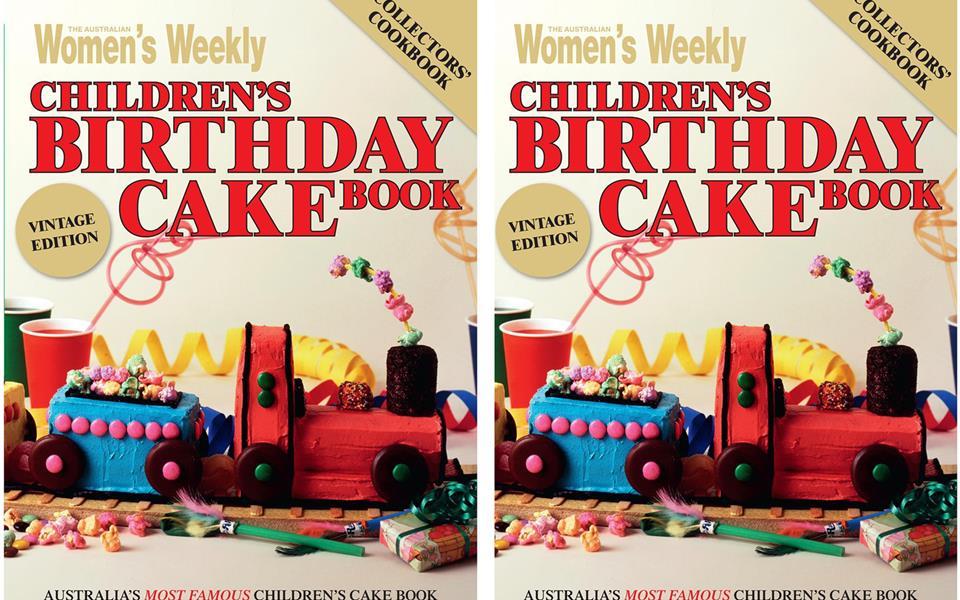 The Australian Womens Weekly Birthday Cake Book Memories Food - Womens weekly childrens birthday cake cookbook
