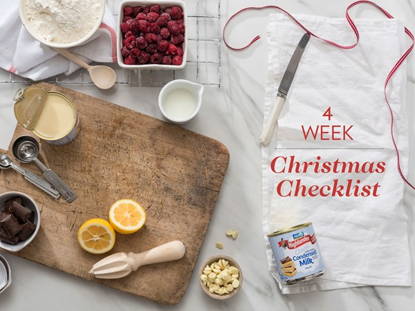 Your 4 week Christmas checklist