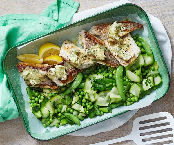 Fish with caper butter recipe food to love for Lemon butter caper sauce for fish