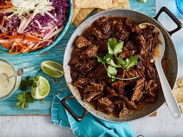Yucatan braised beef ribs