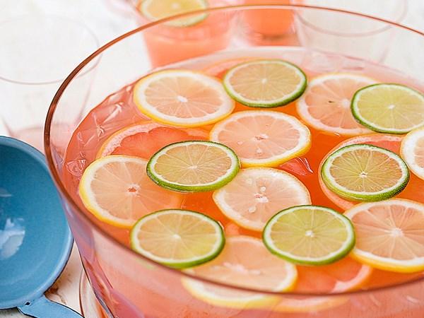 Mixed citrus punch