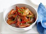 Oven-baked honey chilli teriyaki chicken wings