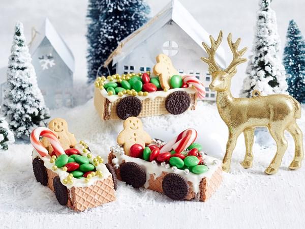 Edible sleighs