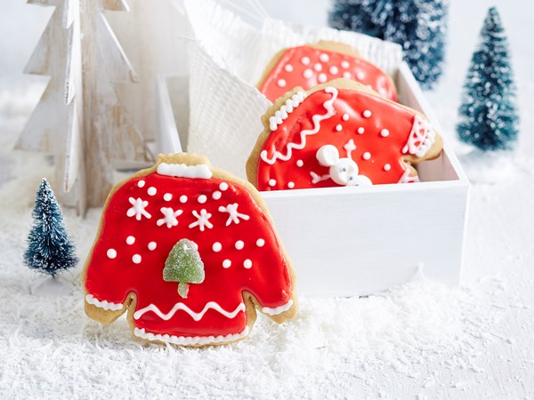 'Ugly' jumper cookies