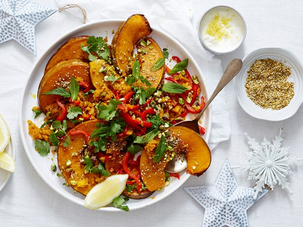 Persian pumpkin salad