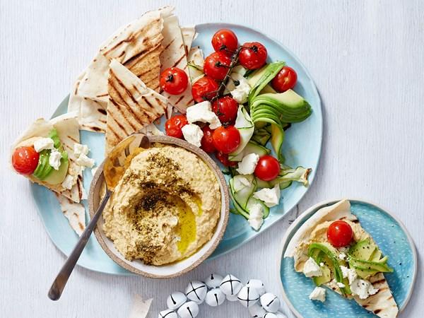Mediterranean brunch platter