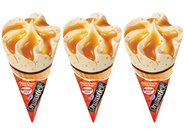 Drumstick and Jatz team-up for the most Aussie ice-cream ever