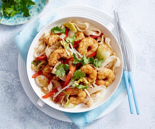 how to cook prawns in a stir fry