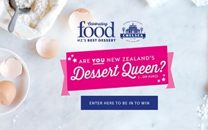 Enter to win the title of New Zealand's best dessert cook, plus $2000 in prizes