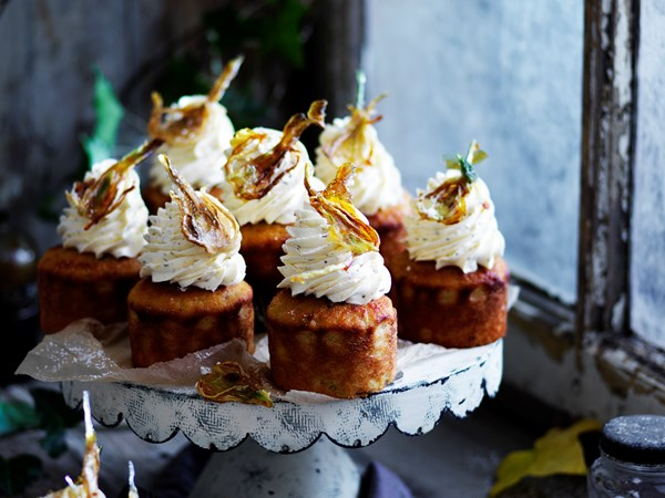 Fennel baby cakes