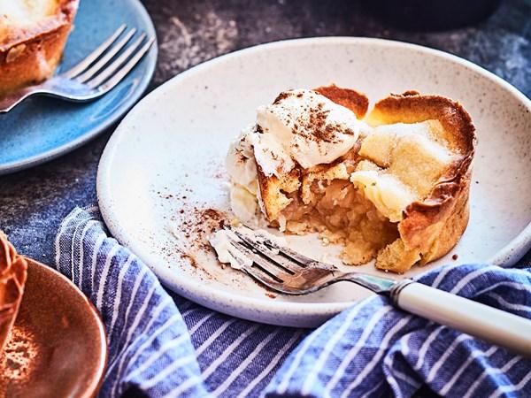 Nana's no added sugar muffin pan apple pies