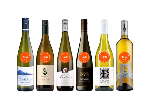 The best pinot gris from Taste's Top Wine Awards 2018