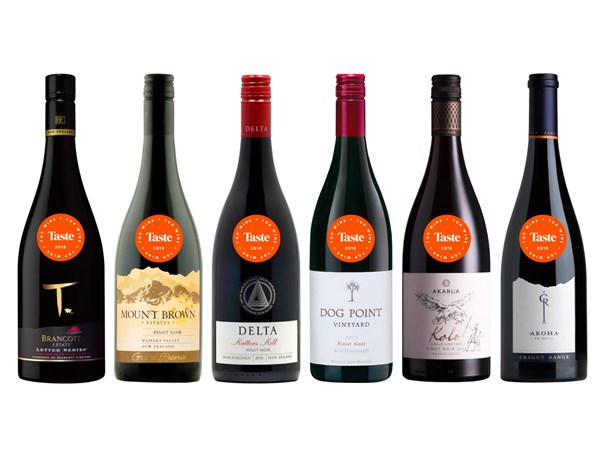 The best pinot noirs from Taste's Top Wine Awards 2018
