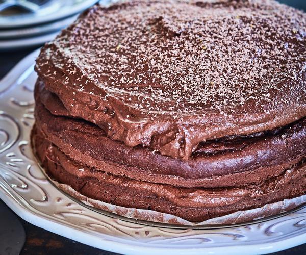 Edmonds Moist Chocolate Cake