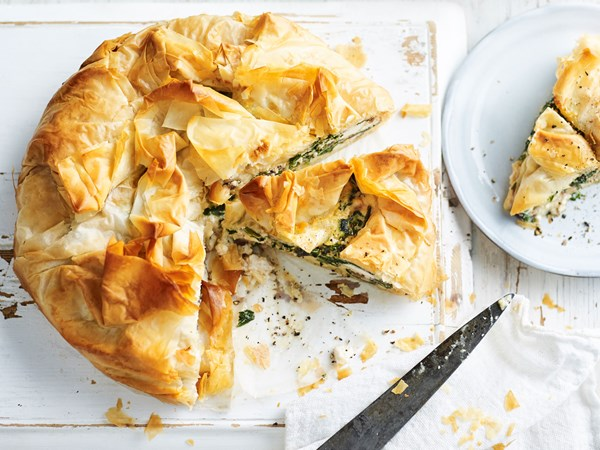 Spinach and feta pie