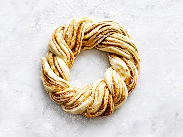 Citrus almond twist