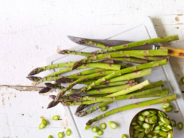 In season with Food magazine: asparagus