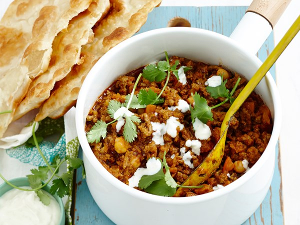 Lamb and tomato curry