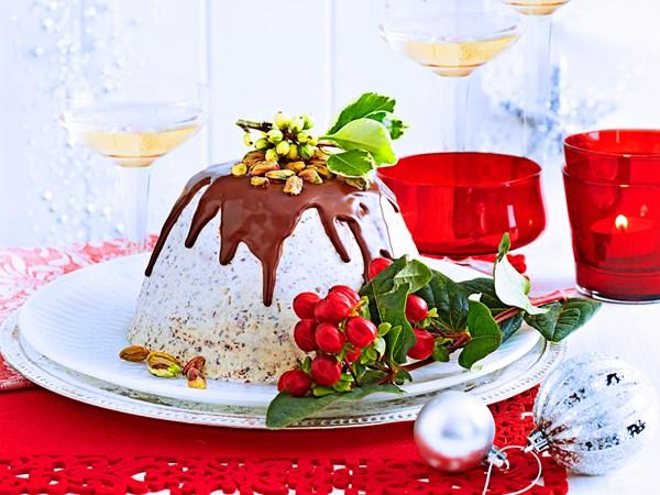 Ice-cream pudding
