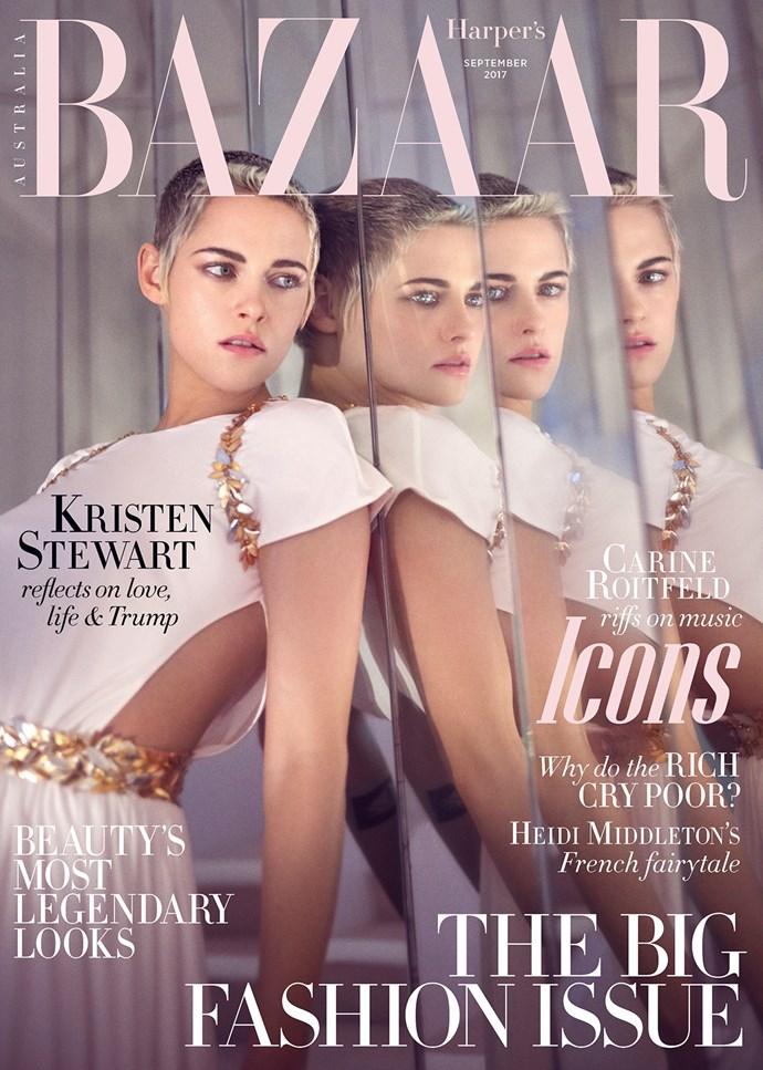 The September issue of *Harper's BAZAAR* Australia is on sale now.