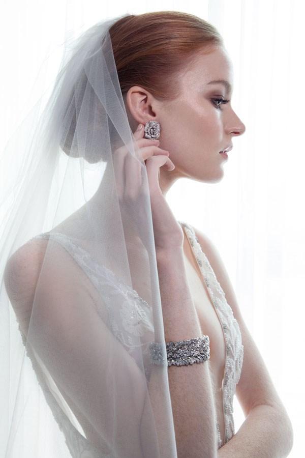[Sonnett Cluster Earrings](http://www.stevenkhalil.com/earrings/sonnett-cluster-earrings), $475; [Jasmin Bracelet](http://www.stevenkhalil.com/bracelets/jasmin-bracelet), $725