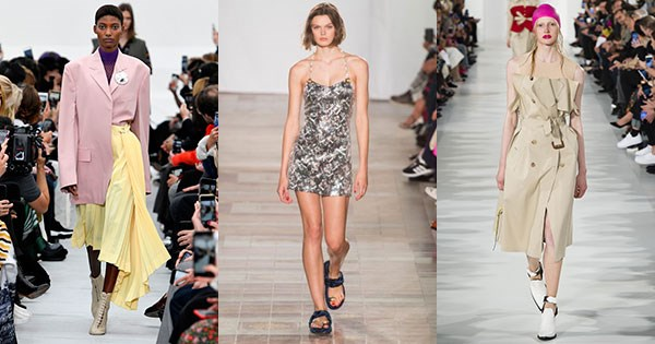 Trends From Fashion Week Spring Summer 2018