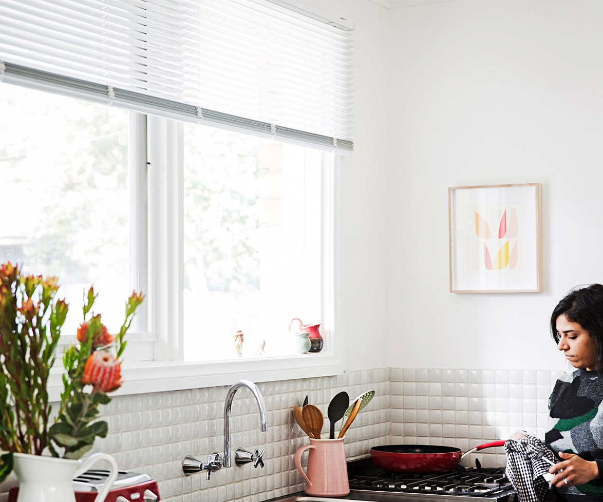 """**Dust off those venetian blinds.** If you've been ignoring the dust build-up on your [blinds]( http://www.homestolove.com.au/how-to-choose-the-right-window-blinds-1753