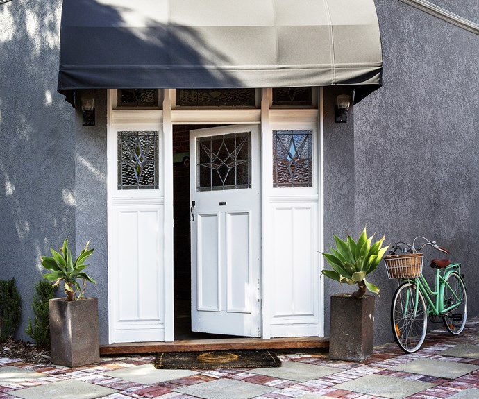 Art Deco front door