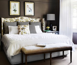 His and hers master bedroom