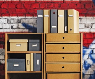 Office storage ideas.