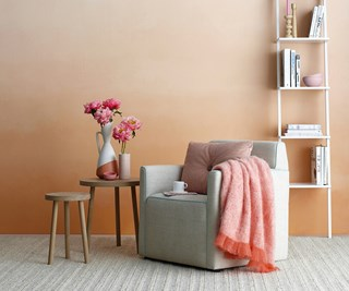 Colourful living room painting projects