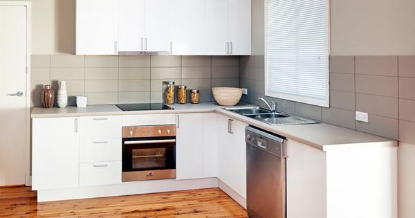 Before and after contemporary kitchen makeover for just 5000 homes solutioingenieria Gallery