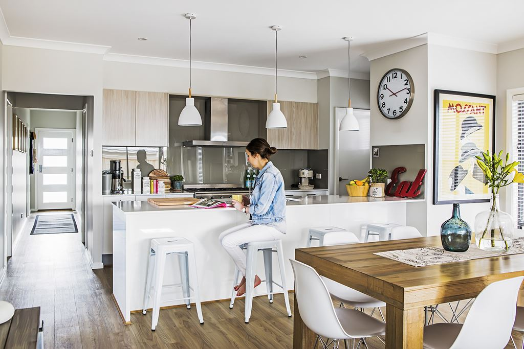 the white and wood pendant lights in the kitchen are from beacon lighting beacon lighting pendant lights