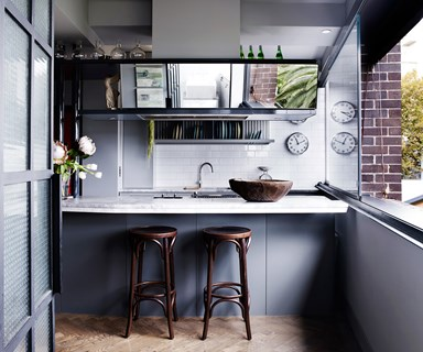 Robert and Susan's converted '20s harbour view apartment