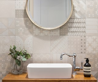 Bathroom designed by Adele Bates Design