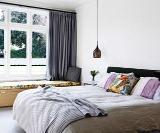 Contemporary designer bedroom