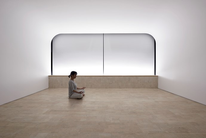 """**CRS Studio** """"We tried to create a studio of emptiness for people to relax and concentrate their mind,"""" [Clouds Architecture Office](http://www.cloudsao.com/?utm_campaign=supplier/