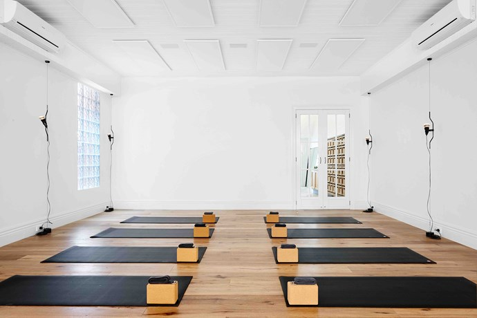 **Happy Melon** The first-of-its-kind mind and body studio blends meditation with yoga and dynamic fitness. Photo: Brooke Holm.