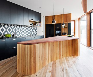 Contemporary kitchen by Auhaus Architecture