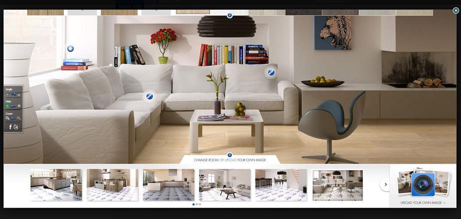 ứng dụng thiết kế nội thất Qick – Step