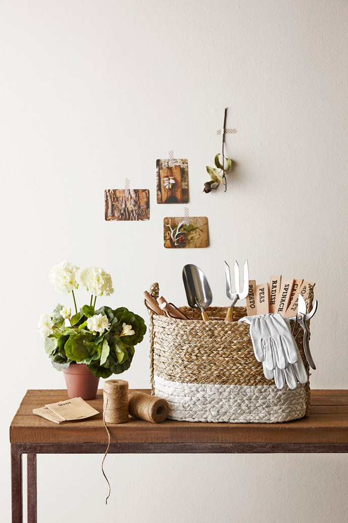 "**Baskets:** Seagrass basket, $89 from [Maison et Jardin](http://www.maisonetjardin.com.au/?utm_campaign=supplier/ target=""_blank"")."