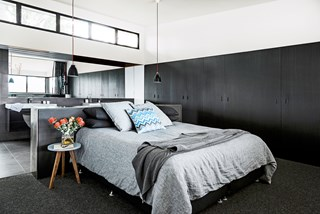 Brisbane inner-city master bedroom