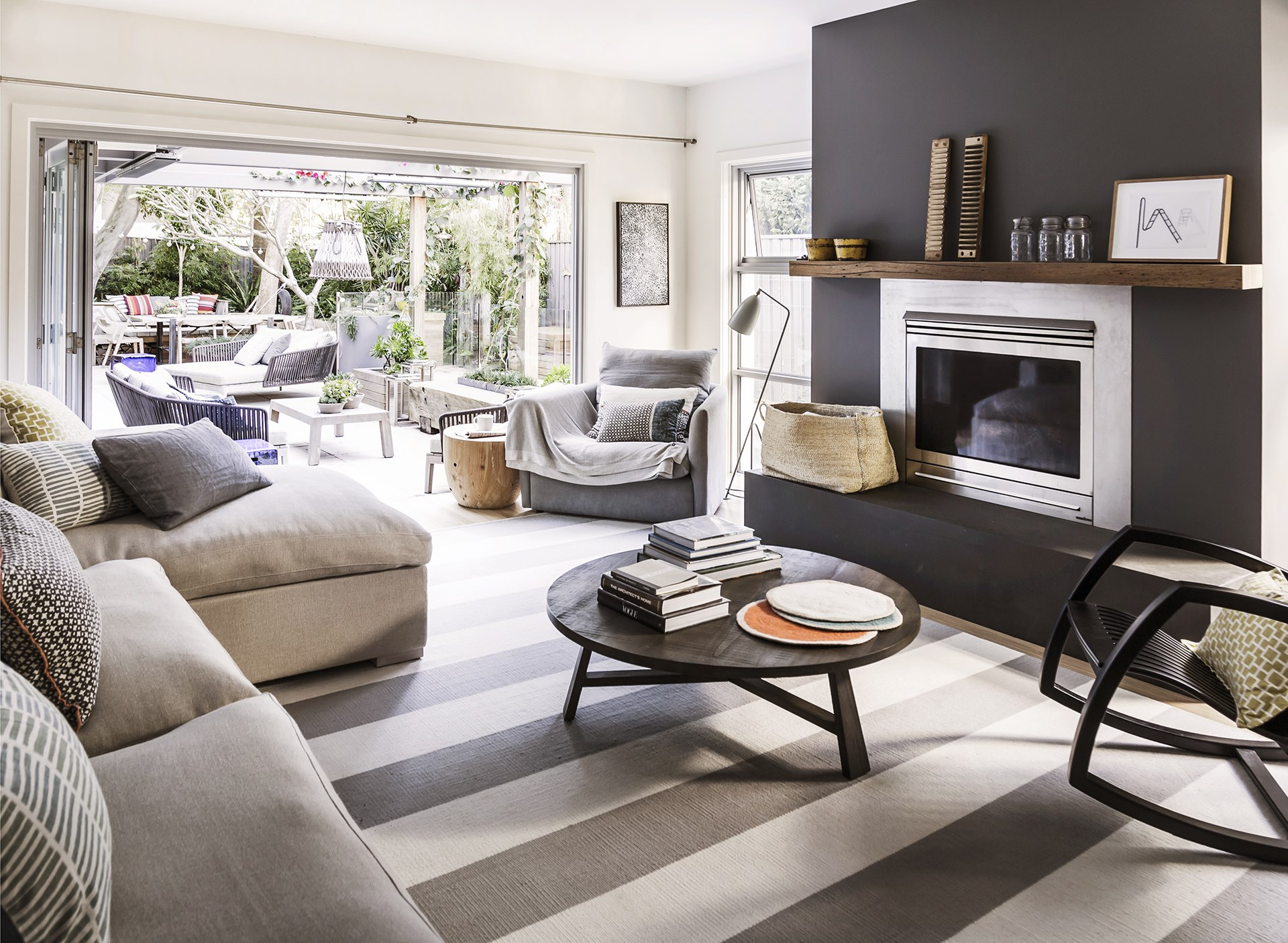 [A holiday-style retreat for a busy family](http://www.homestolove.com.au/holidaying-at-home-in-manly-2482). Photo: Maree Homer / *Australian House & Garden*