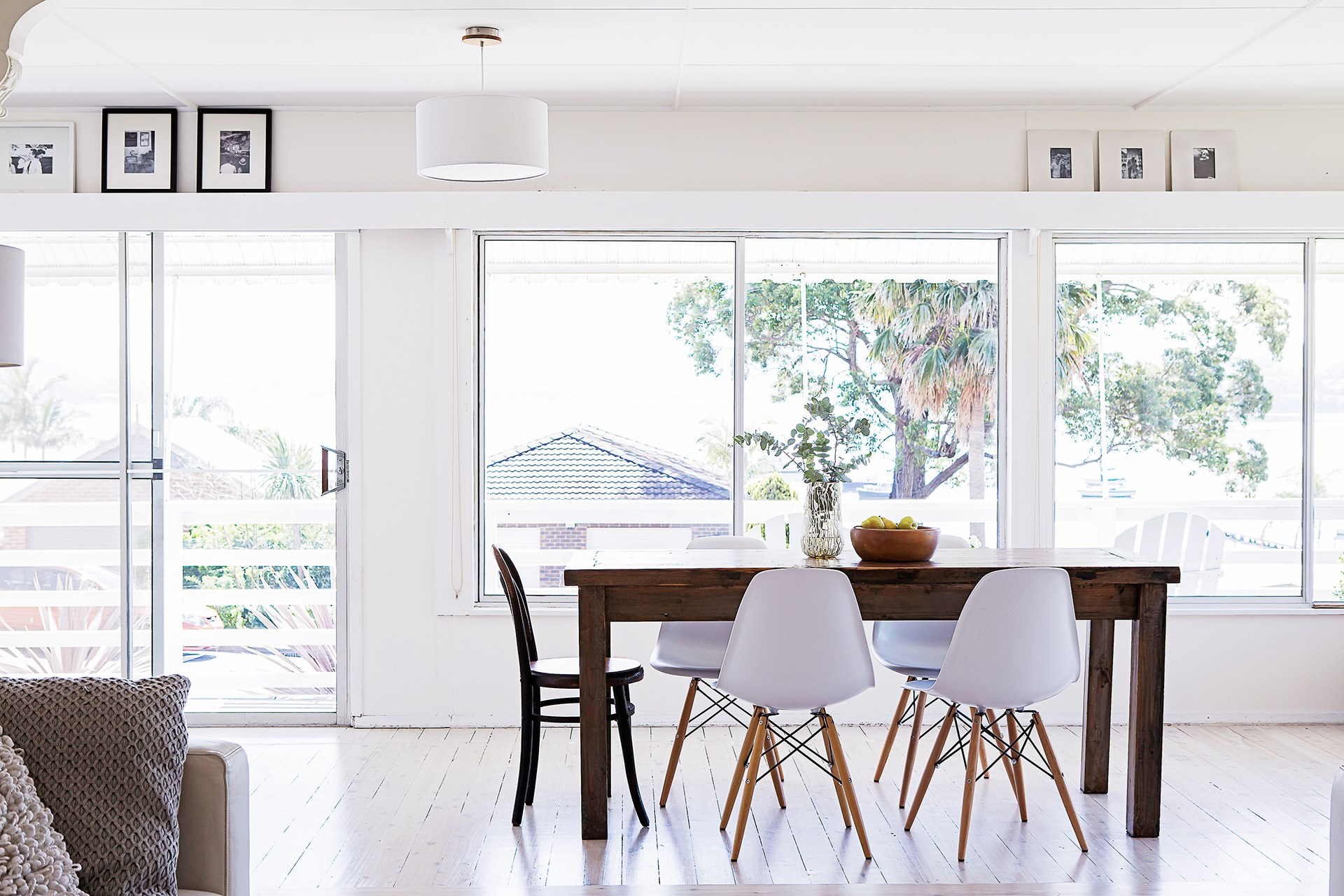 Stella and Michael wanted their new home to be a sanctuary away from their working lives, so the fact it was a bright and airy corner block with high ceilings sealed the deal.