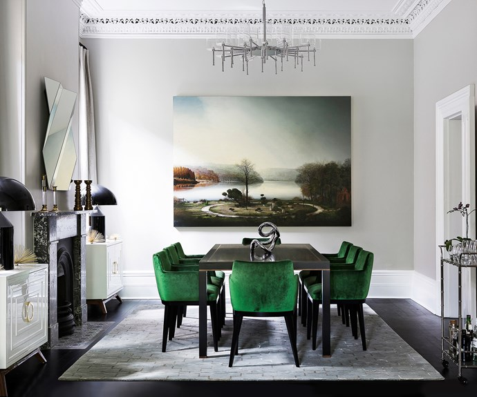 "Use art as the focal point. ""In the case of this room, it acts as the view,"" says Sydney interior designer [Brendan Wong](http://brendanwong.com//?utm_campaign=supplier/