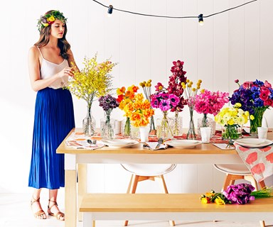 Party styling for the summer season