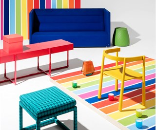 colourful interior design