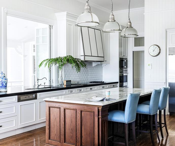 A stately queenslander becomes a fresh family sanctuary for Kitchen ideas for queenslanders