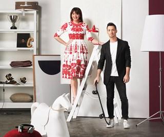 Megan Morton and Steve Cordony